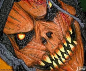 Devil mask puzzle