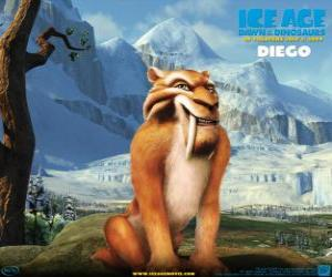 Diego, the saber-tooth tiger puzzle