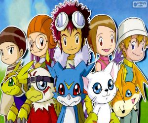 Digimon's protagonists puzzle