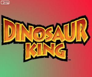 Dinosaur King logo puzzle