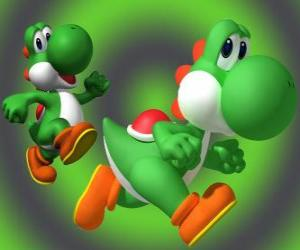 Dinosaur Yoshi is Mario's best friend puzzle