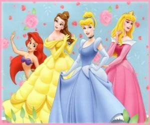 Disney Princesses puzzle