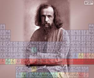 Dmitri Mendeleev puzzle