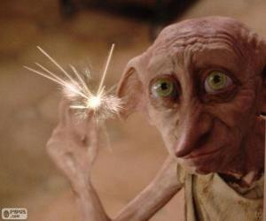 Dobby, a house-elf from Harry Potter puzzle