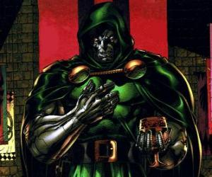 Doctor Doom is a supervillain and enemy of the Fantastic Four puzzle
