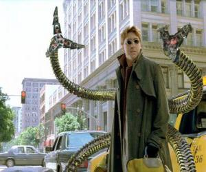 Doctor Octopus is a highly intelligent mad scientist, one of the greatest enemies of Spider-Man puzzle