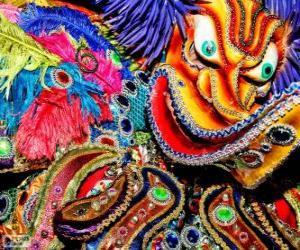Dominican Carnival puzzle