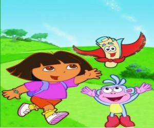Dora The Explorer Puzzles Jigsaw 3
