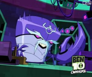 Dr. Psychobos, creator of the Nemetrix. Ben 10 Omniverse puzzle