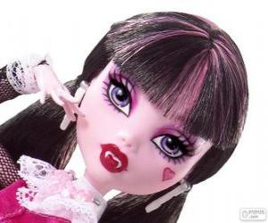Draculaura from Monster High puzzle