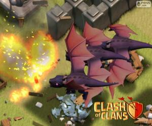 Dragons 2, Clash of Clans puzzle