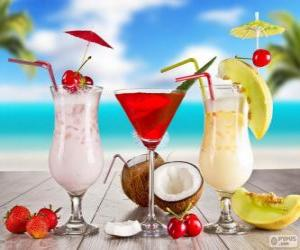 Drinks for summer puzzle