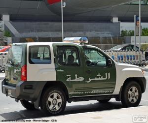 Dubai police car puzzle