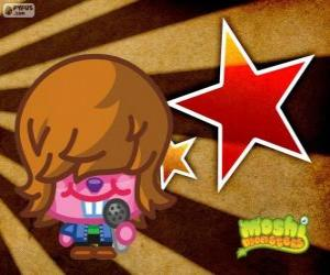 Dustbin Beaver of Moshi Monsters puzzle