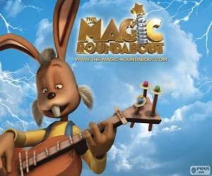 Dylan, the rabbit who plays guitar puzzle