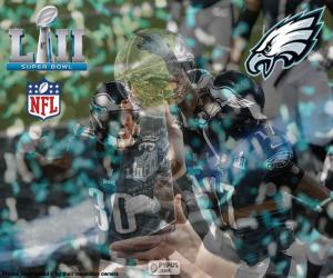 Eagles, Super Bowl 2018 puzzle