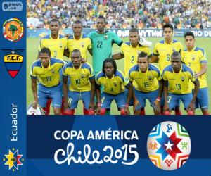 Ecuador Copa America 2015 puzzle