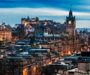 Edinburgh, Scotland, United Kingdom puzzle