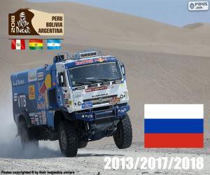 Eduard Nikolaïev, Dakar 2018 puzzle