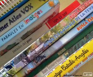 Educational books puzzle