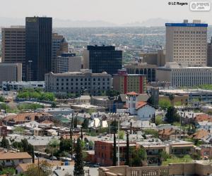 El Paso, United States puzzle