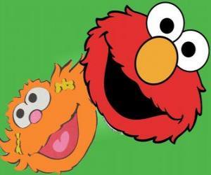 Elmo and Zoe puzzle