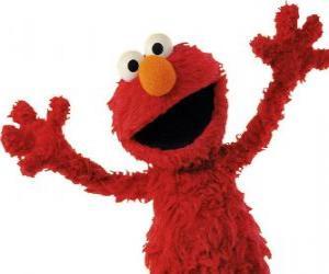 Elmo smiling puzzle