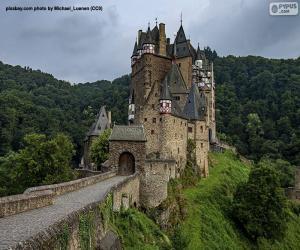Eltz Castle, Germany puzzle
