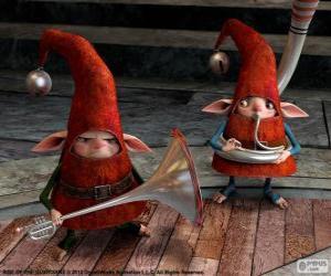 Elves. Rise of the Guardians puzzle