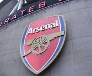 Emblem of Arsenal F.C. puzzle