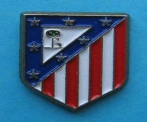 Emblem of Atlético de Madrid puzzle