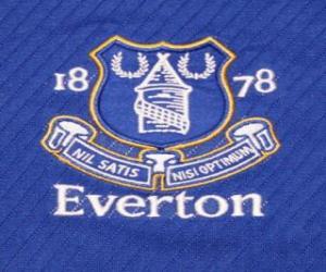 Emblem of Everton F.C. puzzle