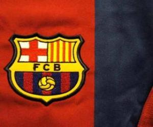 Emblem of F. C. Barcelona puzzle