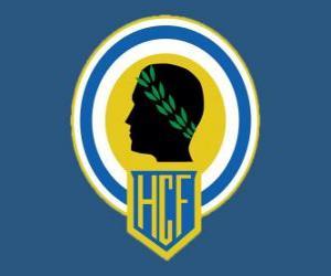 Emblem of Hércules CF puzzle