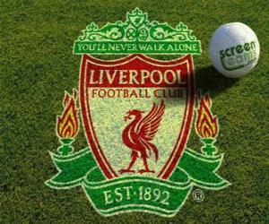Emblem of Liverpool F.C. puzzle
