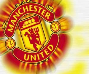 Emblem of Manchester United F.C. puzzle