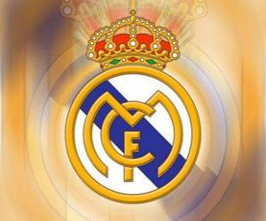 Emblem of Real Madrid puzzle