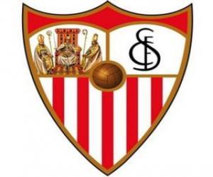 Emblem of Sevilla F.C puzzle