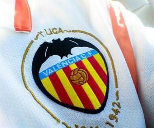 Emblem of Valencia C.F puzzle