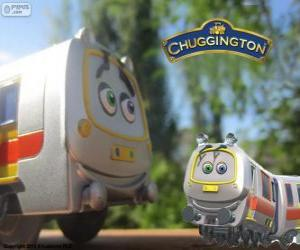 Emery, the Rapid Train from Chuggington puzzle