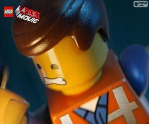 Emmet from The Lego Movie puzzle