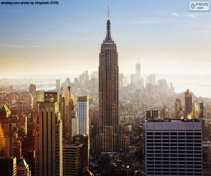 Empire State Building, New York puzzle