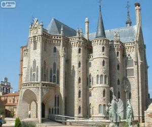 Episcopal Palace, Astorga, Spain (Antoni Gaudi) puzzle