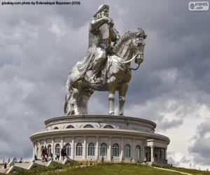 Equestrian statue of Genghis Khan, Mongolia puzzle