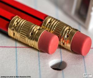 Eraser Pencils puzzle