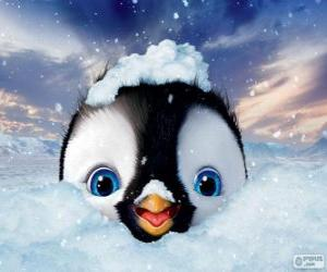 Erick is the main character of, Happy Feet Two puzzle