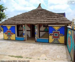 Ethnic House, South Africa puzzle