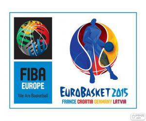 EuroBasket 2015 logo puzzle