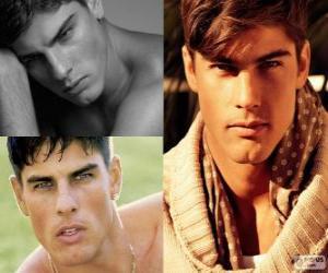 Evandro Soldati is a Brazilian model puzzle