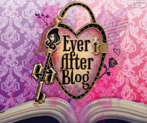 Ever After High logo puzzle